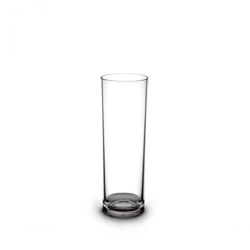 Tube long drink transparent 22cl et personnalisable.