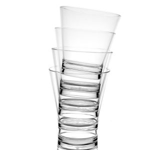 Verre à cocktail transparent incassable | RBDRINKS®