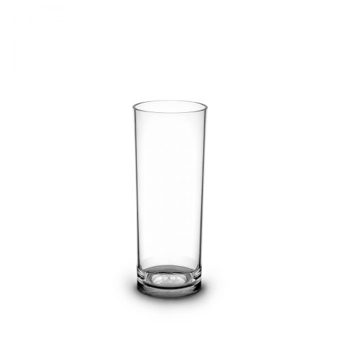 Tube long drink transparent et personnalisable.