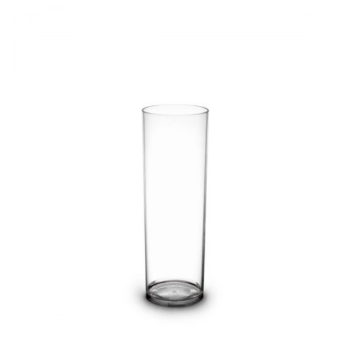 Verre tube long drink incassable et personnalisable.