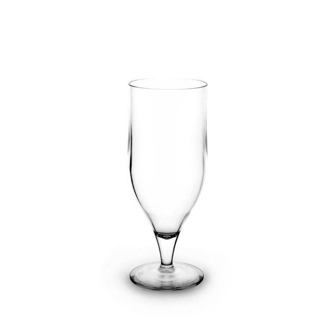 Verre tulipe transparent incassable