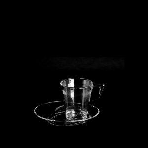Tasse à café transparente | RBDRINKS®
