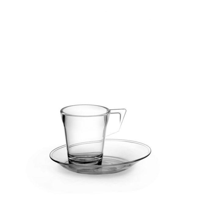 Tasse à café transparente, incassable !