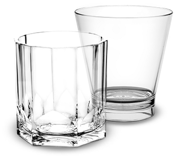 Verre à cocktail incassable et personnalisable | RBDRINKS®