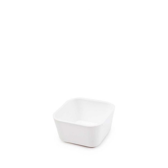 White container for sauce