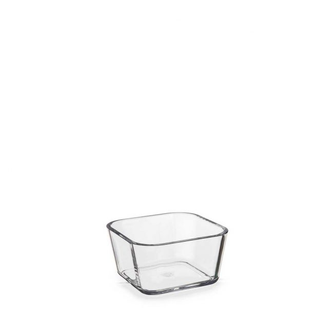 Clear container for sauce