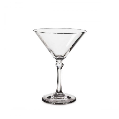 Transparent martini glass 20 cl