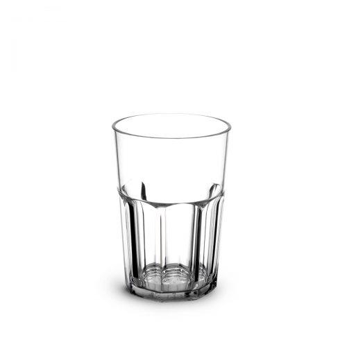 Verre Rétro Pinte transparent incassable et personnalisable.