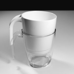 Mug transparent incassable | RBDRINKS®