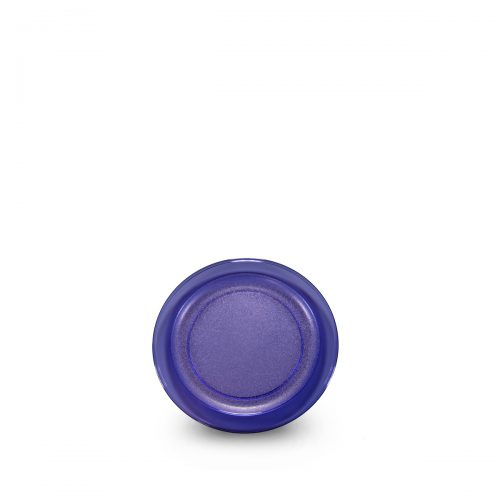 Petite assiette bleue incassable et personnalisable.