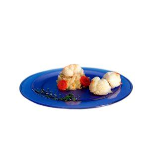Petite assiette bleue incassable   RBDRINKS