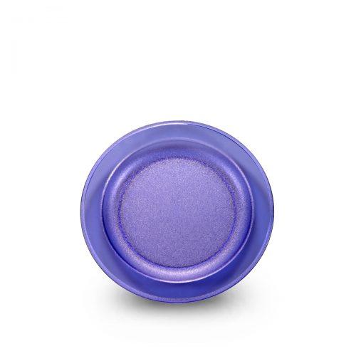 Grande assiette bleue incassable et personnalisable RBDRINKS® pour établissement CHR.