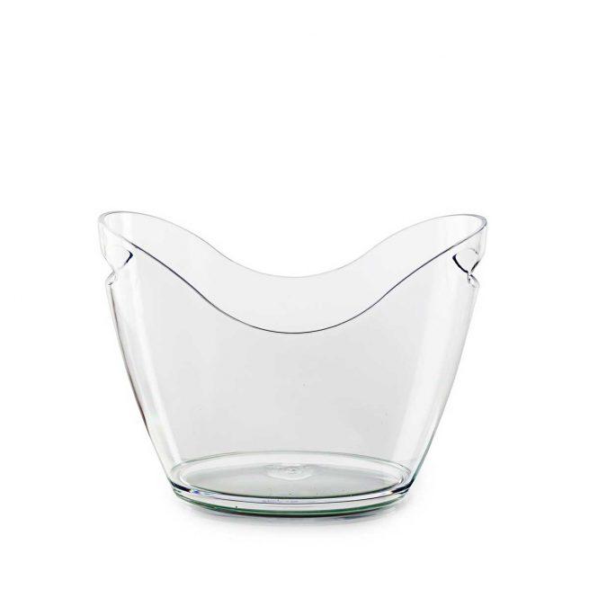 Seau à champagne transparent | RBDRINKS®