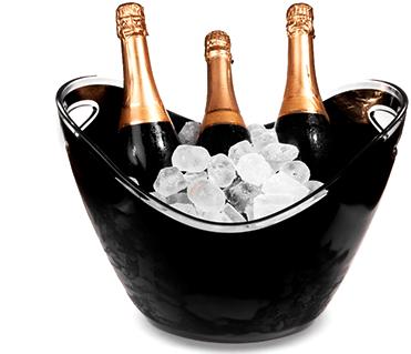 Seaux à champagne personnalisable | RBDRINKS®